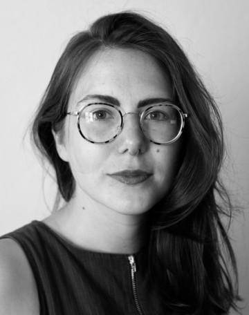Black and white portrait of Yvonne Billimore.